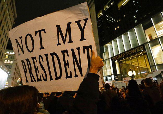 Nie ustają demonstracje uliczne przeciw wyborowi Trumpa na prezydenta