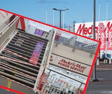 W Media Markt czerwone taśmy. Nowy sposób na obostrzenia