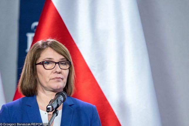 Beata Mazurek odpowiedziała na wpis Donalda Tuska