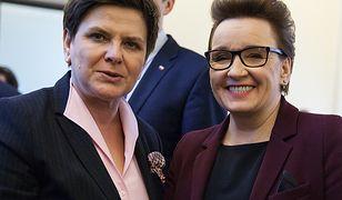 Premier Beata Szydło, minister edukacji narodowej Anna Zalewska