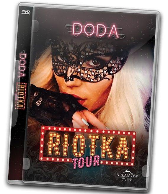 """""""Doda: Riotka Tour"""": najnowsze DVD koncertowe Dody już w sprzedaży"""