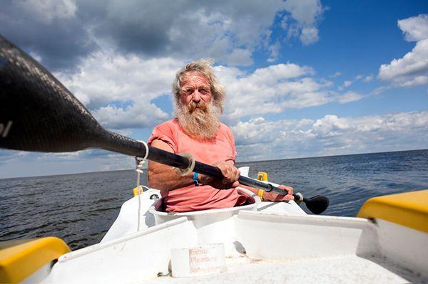 Aleksander Doba przerwał podróż przez Atlantyk