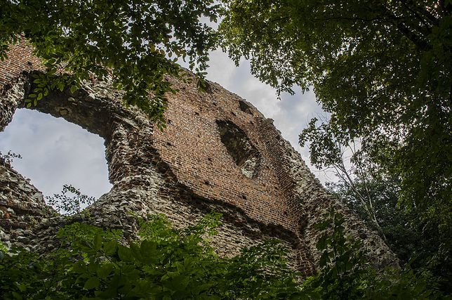 Zamek powstał ok. XIV w.