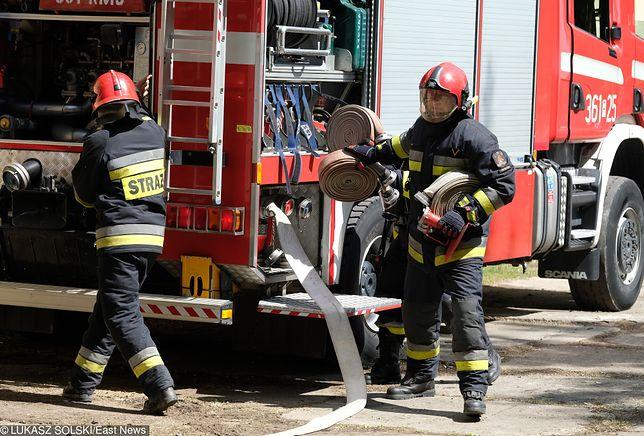 Wyciek gazu w Bydgoszczy. Na miejscu pracowały 3 zastępy straży pożarnej
