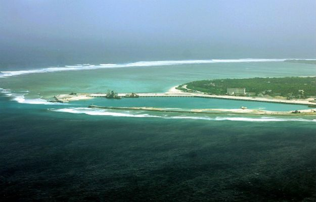 Wyspa Woody (chiń. Yongxing) w archipelagu Paraceli, który Chiny uważają za część swojej prowincji Hajan