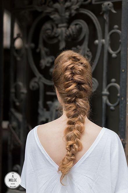 Fryzura ślubna od Milek Design – pomysł trzeci