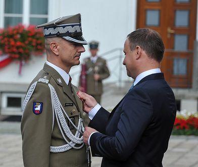 Zmiany w wojsku. Prezydent mianował nowego szefa Sztabu Generalnego WP