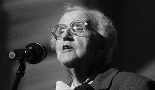 Józefa Hennelowa nie żyje. Krakowska dziennikarka miała 95 lat