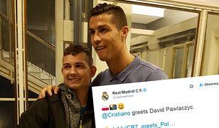 Piękny gest Cristiano Ronaldo. Odwiedził fana, który w 2013 roku wybudził się ze śpiączki