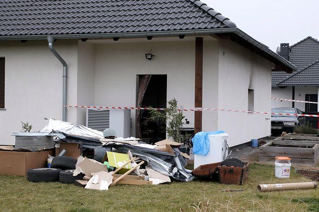 Eksplozja w garażu domu jednorodzinnego w Lędzinach. Jest ofiara