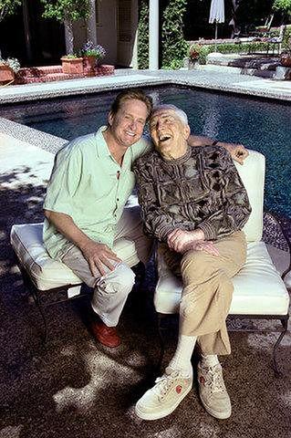 Michael Douglas z ojcem