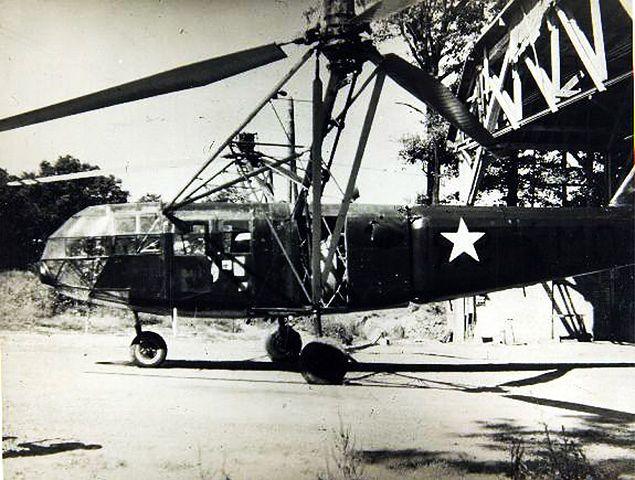 Śmigłowce w armiach USA i III Rzeszy w II wojnie światowej