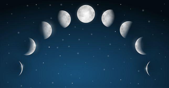 Pełnia księżyca sierpień 2019.