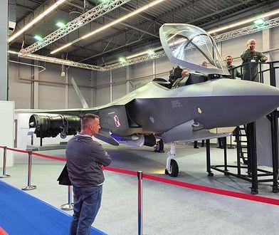 F-35 z polskim malowaniem to na razie makieta. Możliwe, że w przyszłości stanie się to rzeczywistością