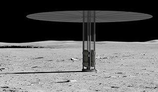 Koncepcja reaktora jądrowego na Księżycu