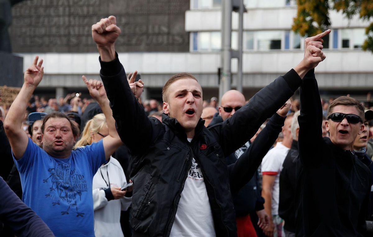 Zamieszki w Chemnitz: Niemcy nie kontrolują ekstremistów. Takich przypadków będzie więcej