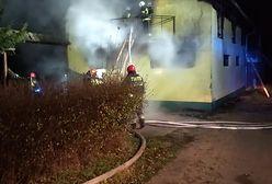 Pożar stadniny koni w Lulewiczkach. Złapano podpalacza