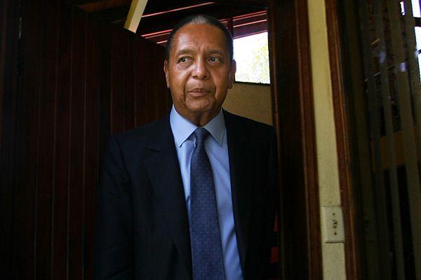 "Jean-Claude ""Baby Doc"" Duvalier w 2011 roku"