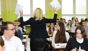 Egzamin gimnazjalny 2019 w jednej ze szkół w Łódzkiem