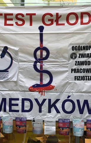 Warszawa. Rozpoczął się protest głodowy w szpitalu przy Żwirki i Wigury