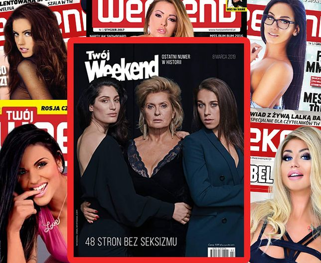 """""""Twój Weekend"""" wydawany był od 1992 roku"""