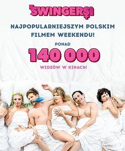"""Polacy kochają się śmiać! Komedia """"Swingersi"""" najchętniej oglądanym polskim filmem weekendu"""