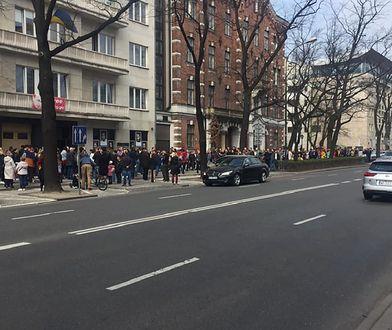 Ambasada Ukrainy w Polsce, al. Szucha 7 (Warszawa).