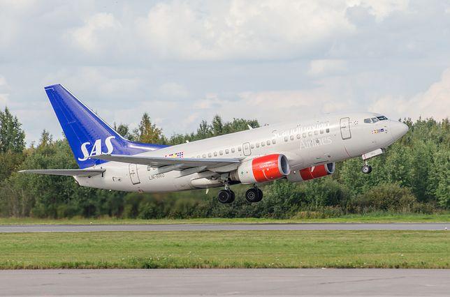 Innowacyjny pomysł SAS-u. Pasażer będzie mógł kupić biopaliwo do samolotu