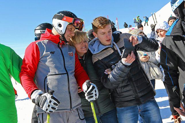 Prezydent na nartach w polskich górach. Ostatnie zjazdy tej zimy