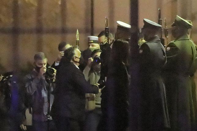 Weto ws. budżetu UE. Premier Węgier Viktor Orban spotkał się premierem RP Mateuszem Morawieckim