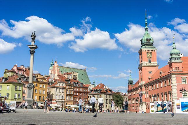 Warszawa w oczach turystów. Oto miejsca, które najchętniej odwiedzają