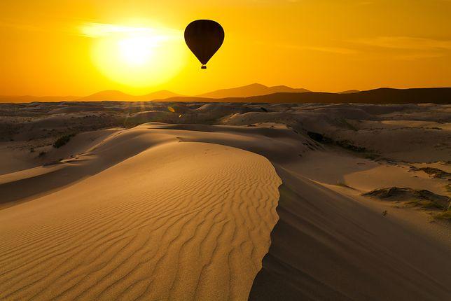 Egipt. Wypadek balonu z turystami. Jedna osoba nie żyje