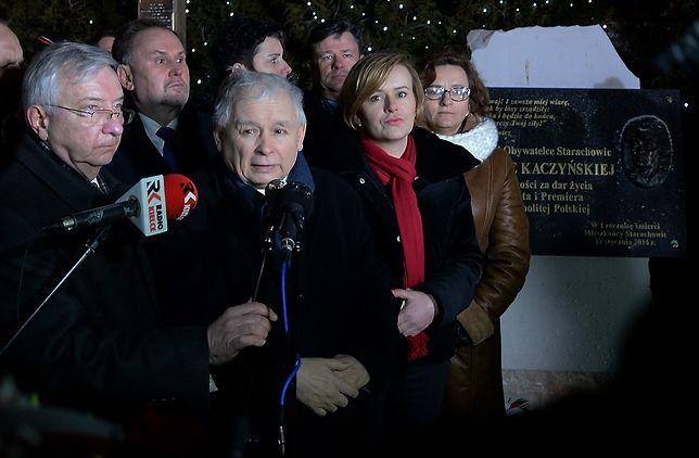 Rocznica śmierci Jadwigi Kaczyńskiej. Prezes odwiedził Starachowice