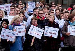 Protest rezydentów trwa. Dzień bez lekarza w Małopolsce