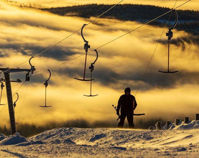 Świetne warunki narciarskie, Norwegia