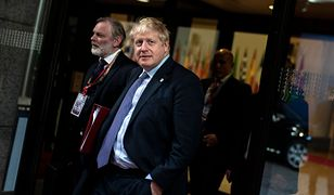 Brexit. Boris Johnson (premier Wielkiej Brytanii) opuszcza unijny szczyt w Brukseli