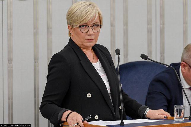 Julia Przyłębska krytykuje Andrzeja Rzeplińskiego. Upomina też Małgorzatę Gersdorf