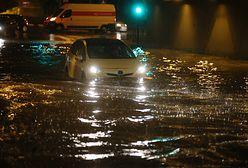 Kraków pod wodą. Ulewny deszcz sparaliżował miasto