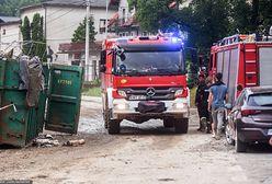 Pogoda. Dziesiątki interwencji strażaków na Pomorzu. IMGW nadal ostrzega