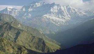 Góra Gurja w Himalajach