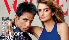 "Ben Stiller i Pénelope Cruz na okładce ""Vogue'a"""