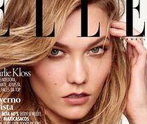 "Karlie Kloss na okładce ""Elle Brazil"""