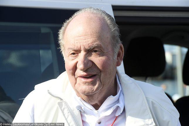 Król Juan Carlos trafił do szpitala.