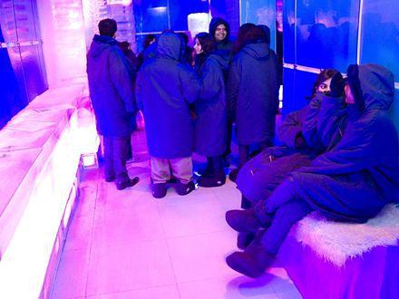 Pierwszy bar lodowy w Indiach