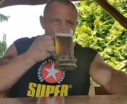 Mariusz Pudzianowski sięgnął po alkohol. Zaskakujące wyznanie