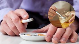 Palisz papierosy? Jedz miód!