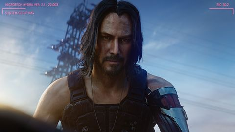 Cyberpunk 2077. Tym razem więcej o Keanu Reevesie w grze