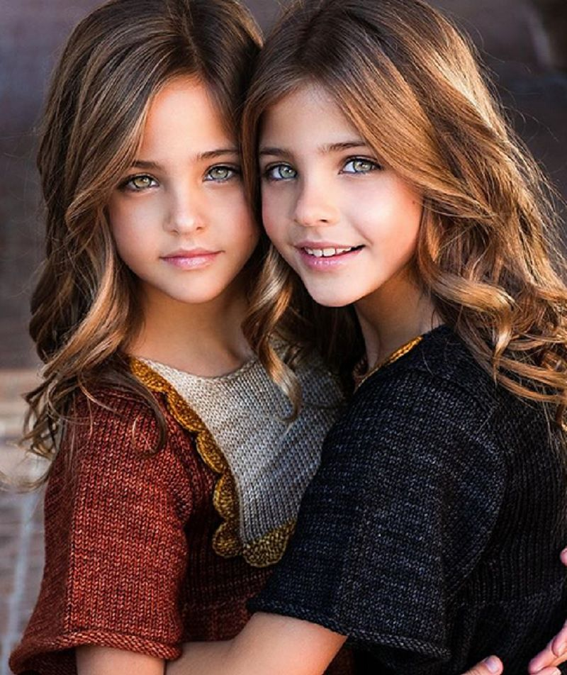 Najpiękniejsze bliźniaczki