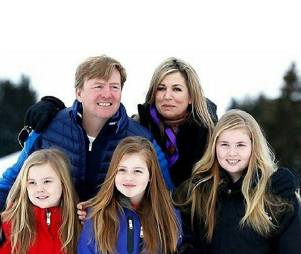 Władca Niderlandów ma trzy córki