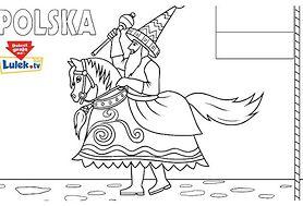Polska - kolorowanka
